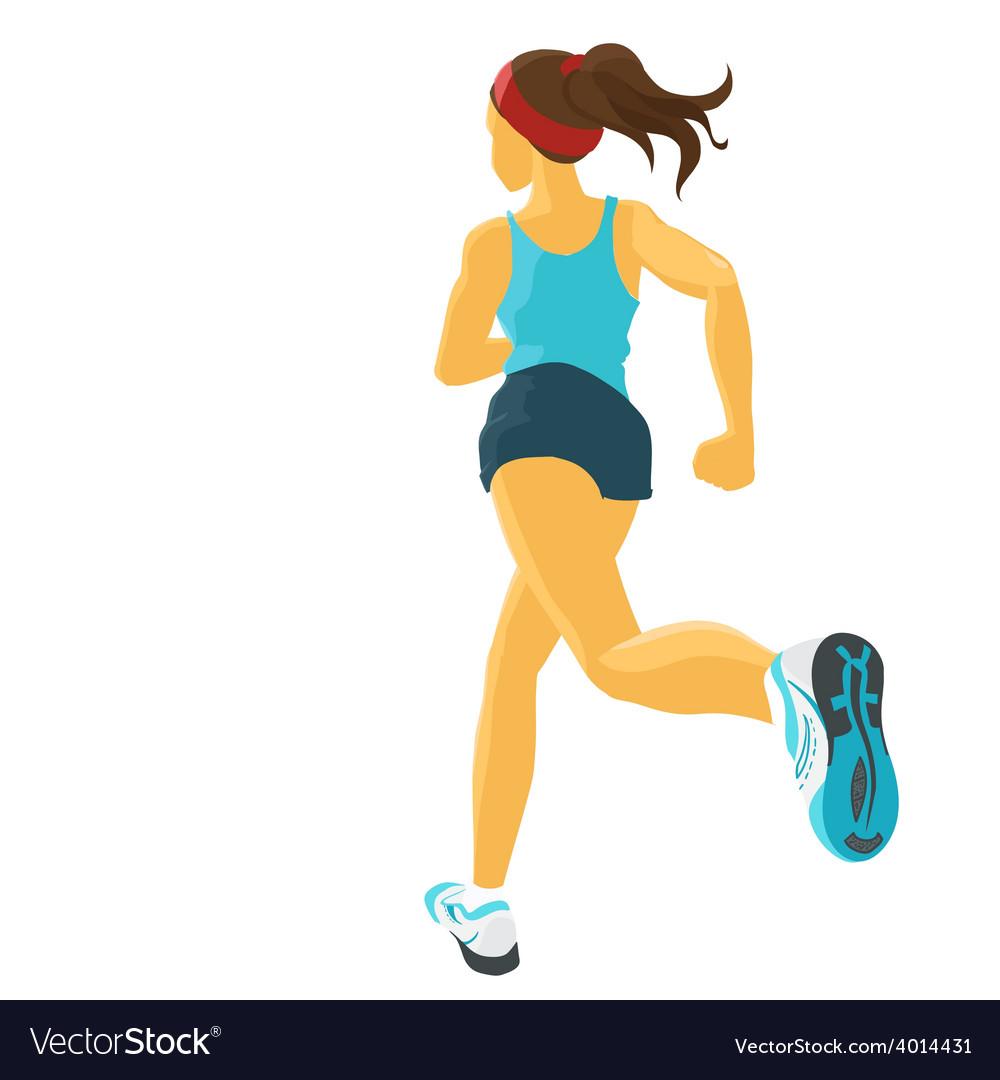Jogging vector | Price: 1 Credit (USD $1)