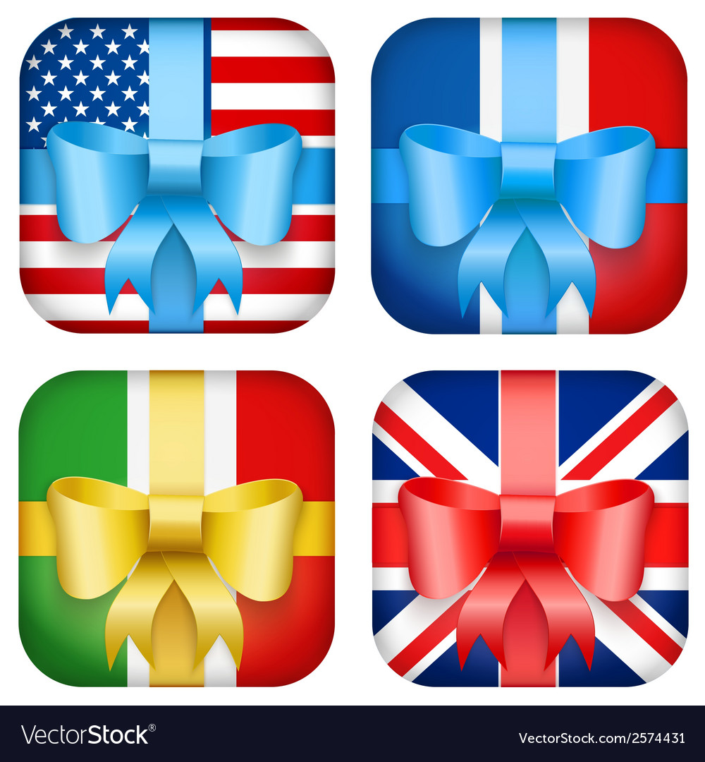 Set of design national gift icon for web and vector | Price: 1 Credit (USD $1)