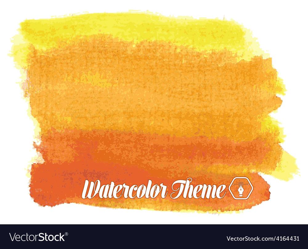 Watercolor theme vector | Price: 1 Credit (USD $1)