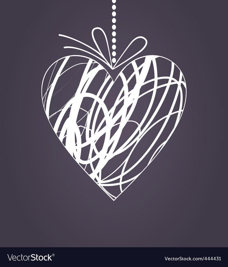 Wedding heart2 vector | Price: 1 Credit (USD $1)