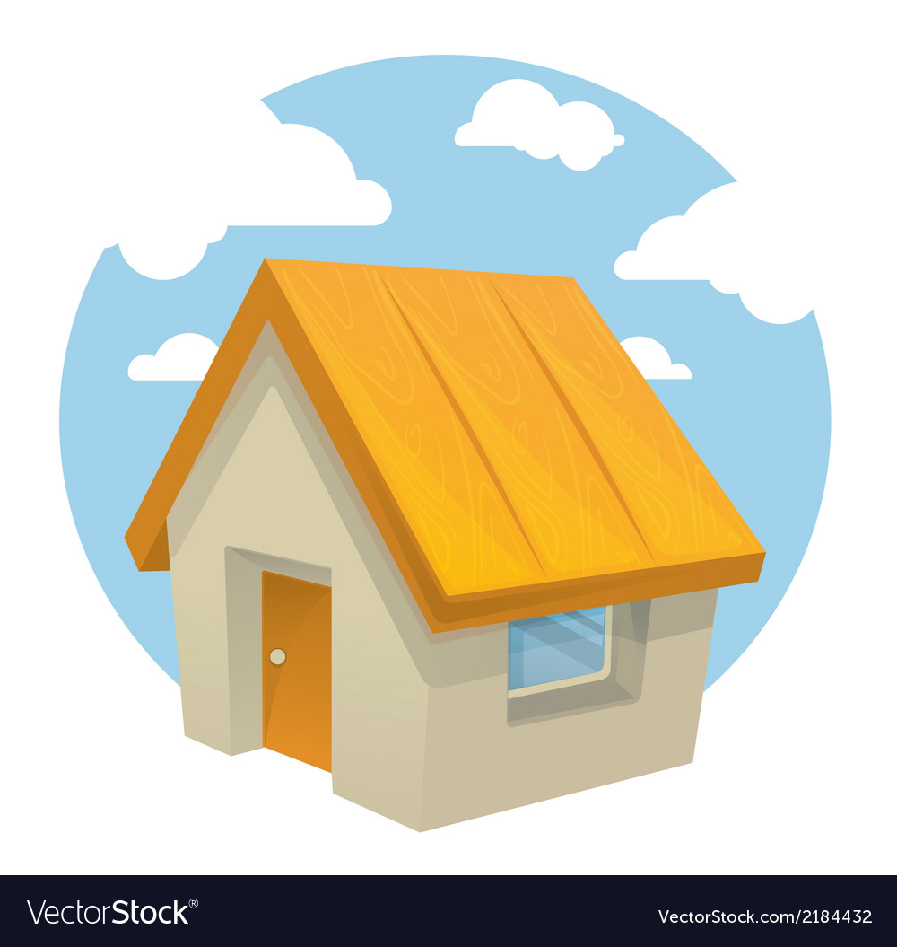 Cartoon home vector | Price: 1 Credit (USD $1)