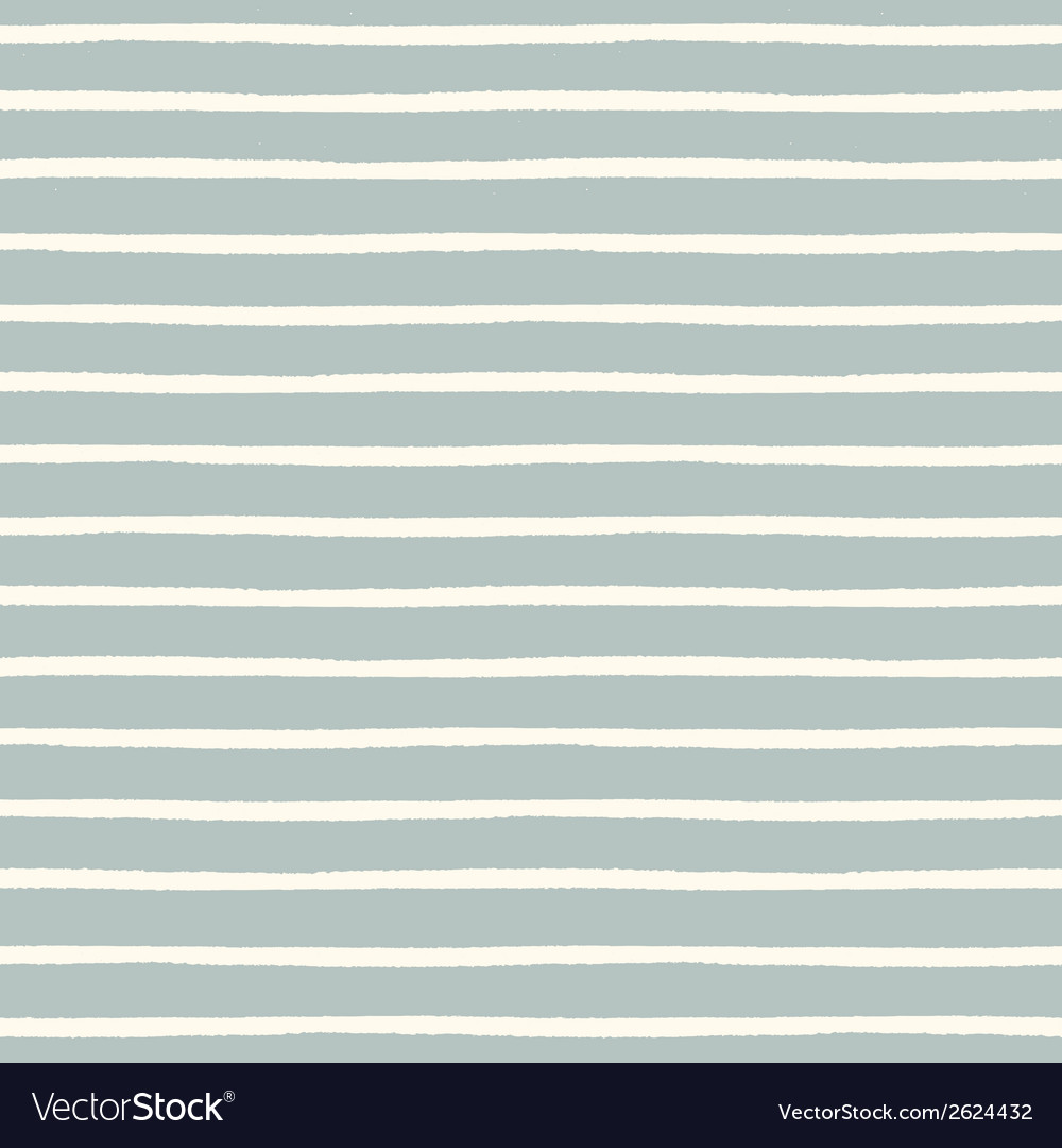Seamless striped pattern with hand painted brush vector | Price: 1 Credit (USD $1)