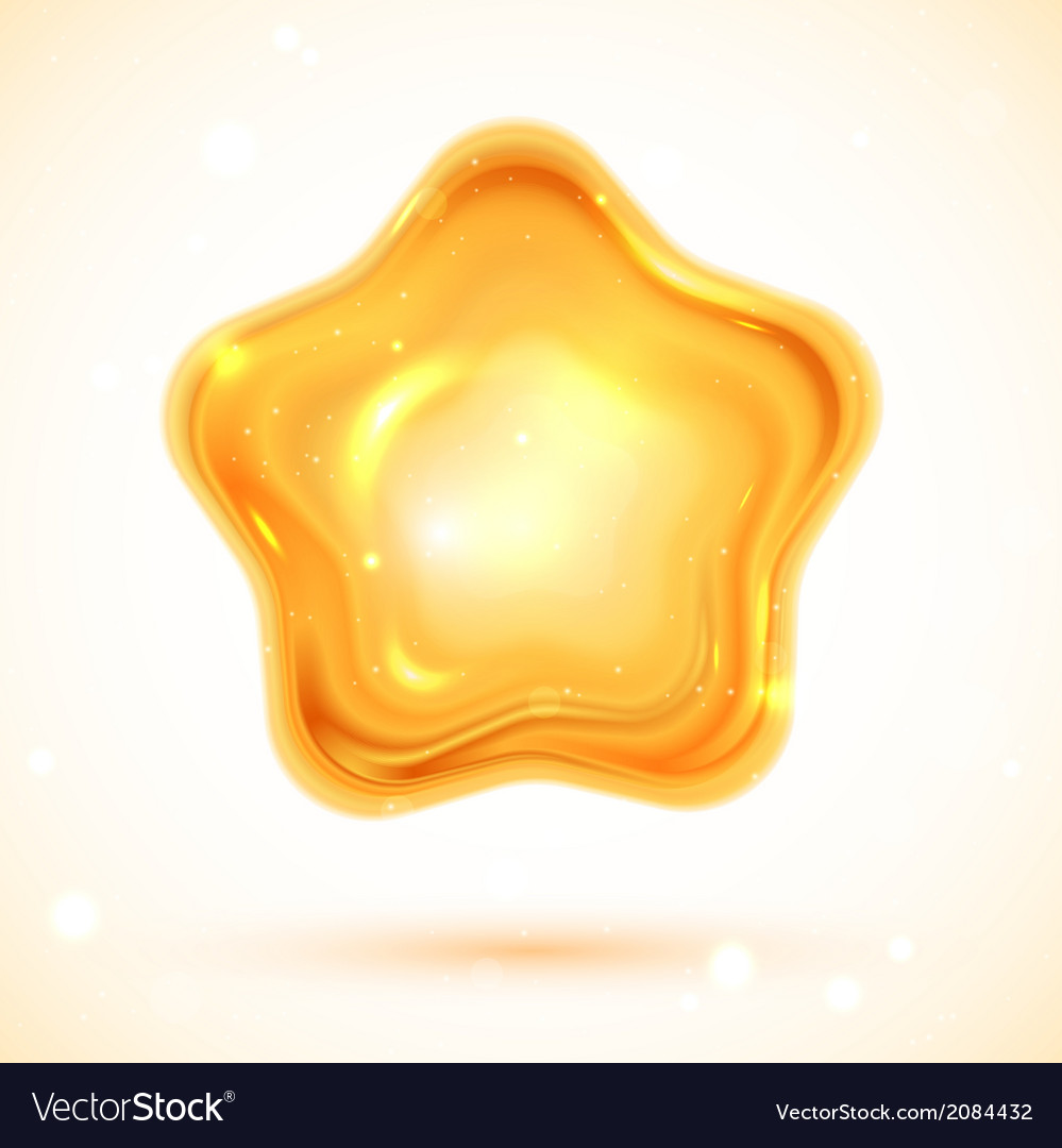 Shiny 3d star vector | Price: 1 Credit (USD $1)