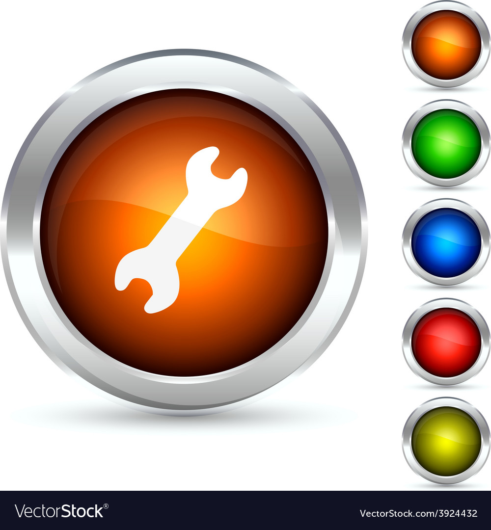 Tool button vector | Price: 1 Credit (USD $1)