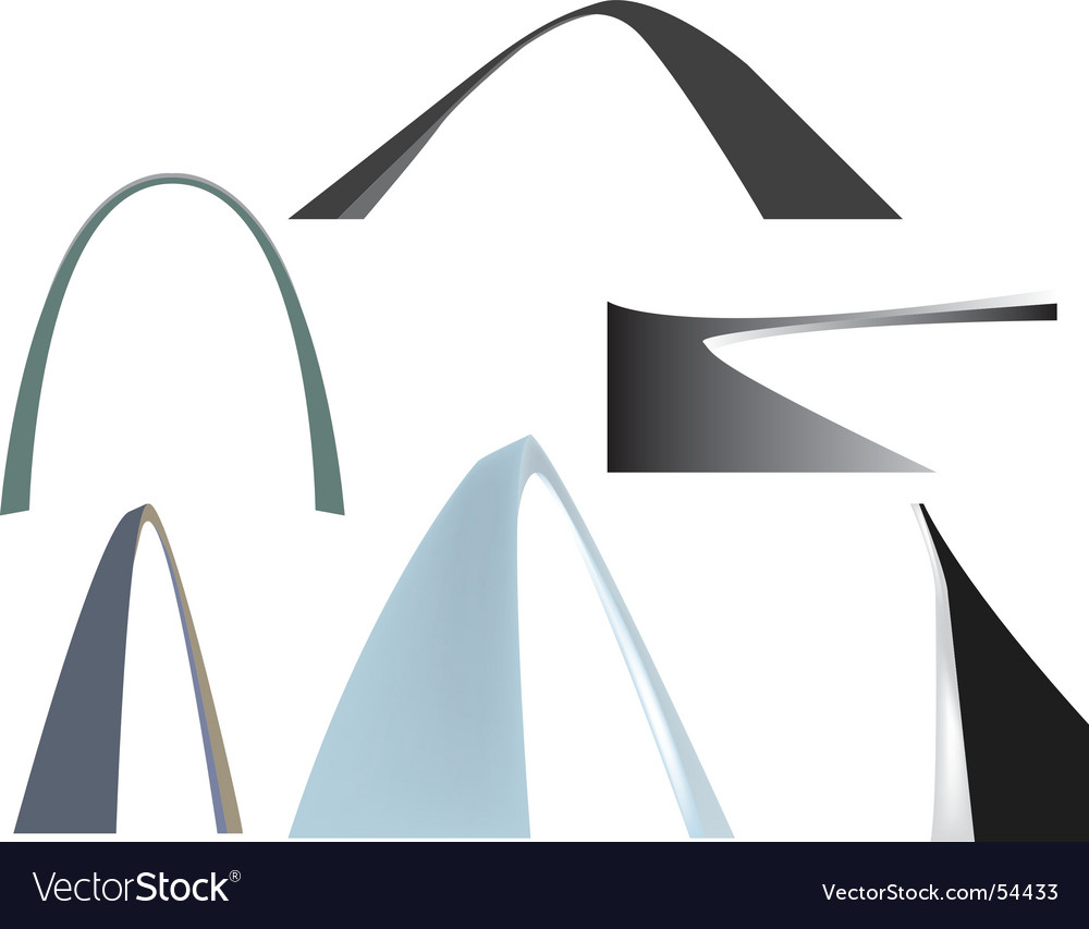 Arches vector | Price: 1 Credit (USD $1)