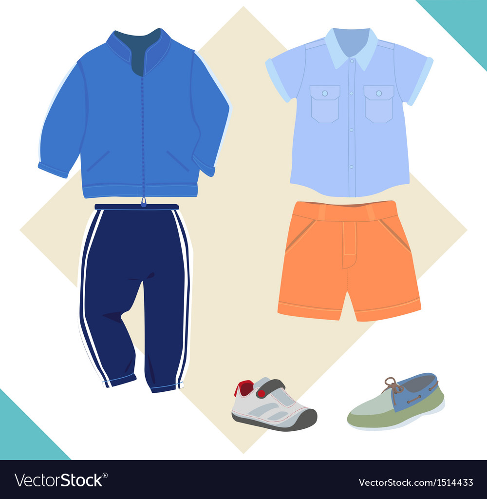 Boy cloth vector | Price: 1 Credit (USD $1)