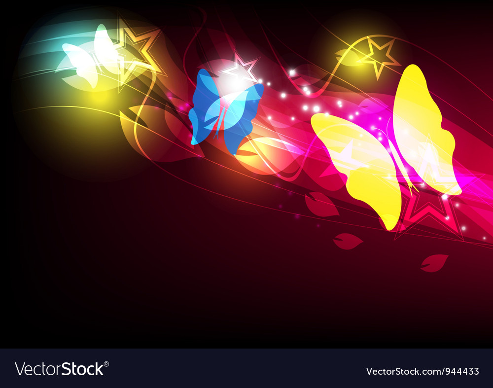 Butterfly layout design vector | Price: 1 Credit (USD $1)