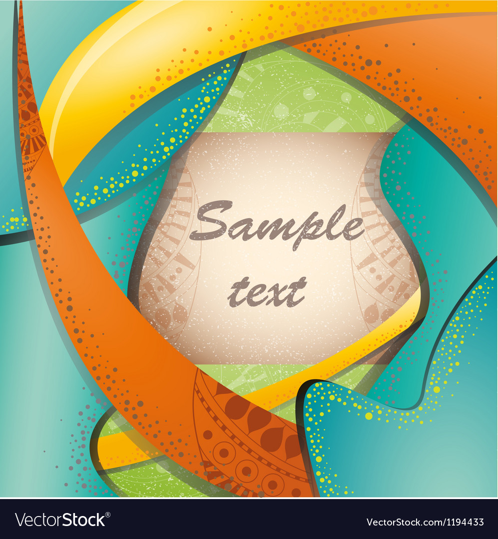 Colorful brochure layout vector | Price: 1 Credit (USD $1)