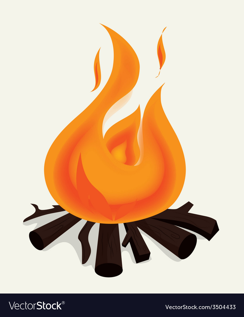 Fire design vector | Price: 1 Credit (USD $1)