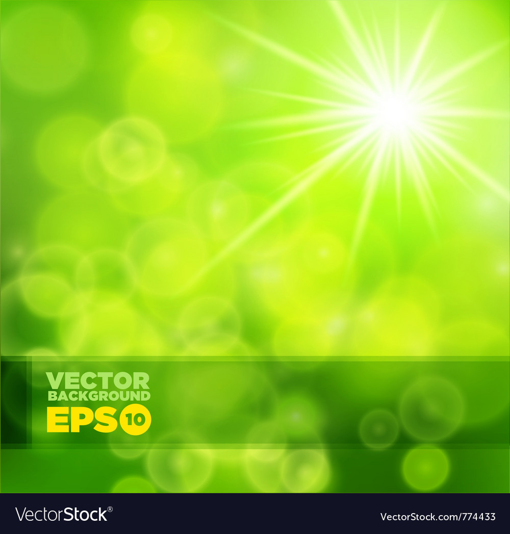Green shiny background vector | Price: 1 Credit (USD $1)