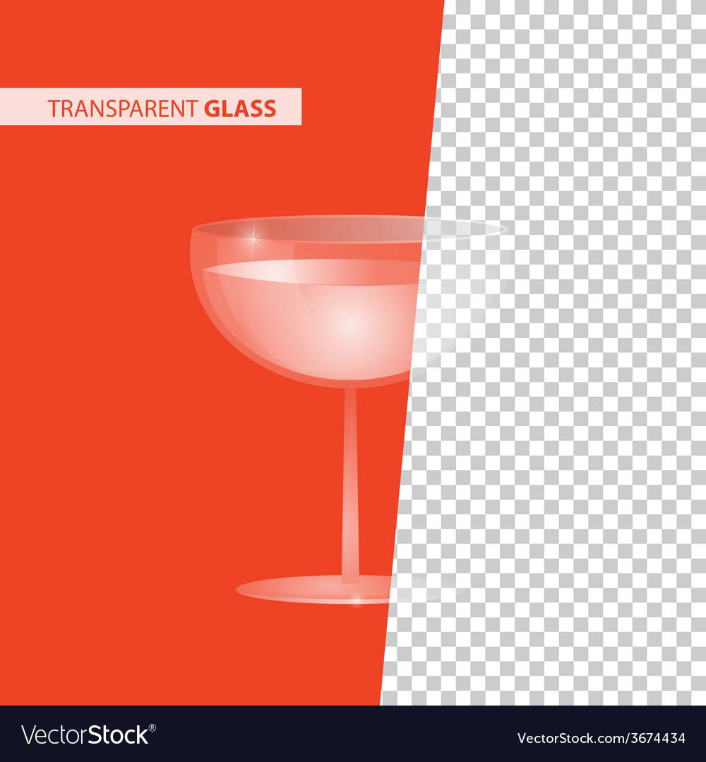 Transparent glass vector   Price: 1 Credit (USD $1)