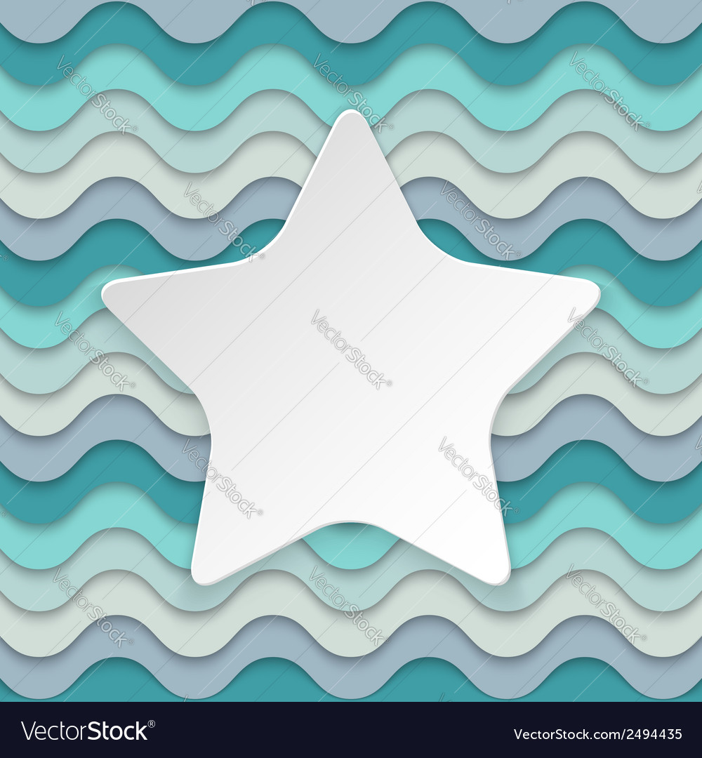 Colorful wavy background with place for text in vector | Price: 1 Credit (USD $1)