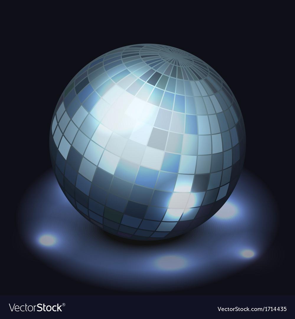 Mirror disco ball vector | Price: 1 Credit (USD $1)