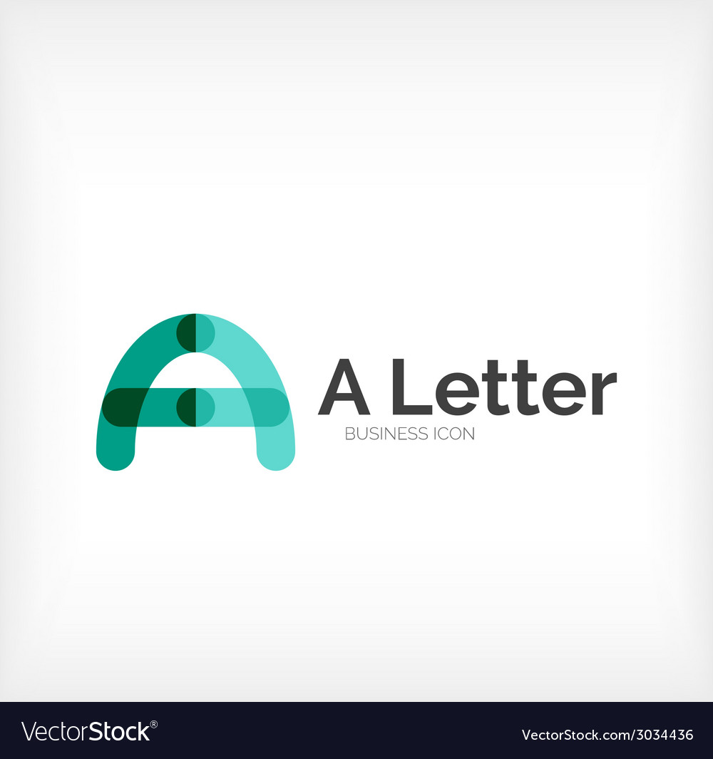 Abc letter logo vector | Price: 1 Credit (USD $1)