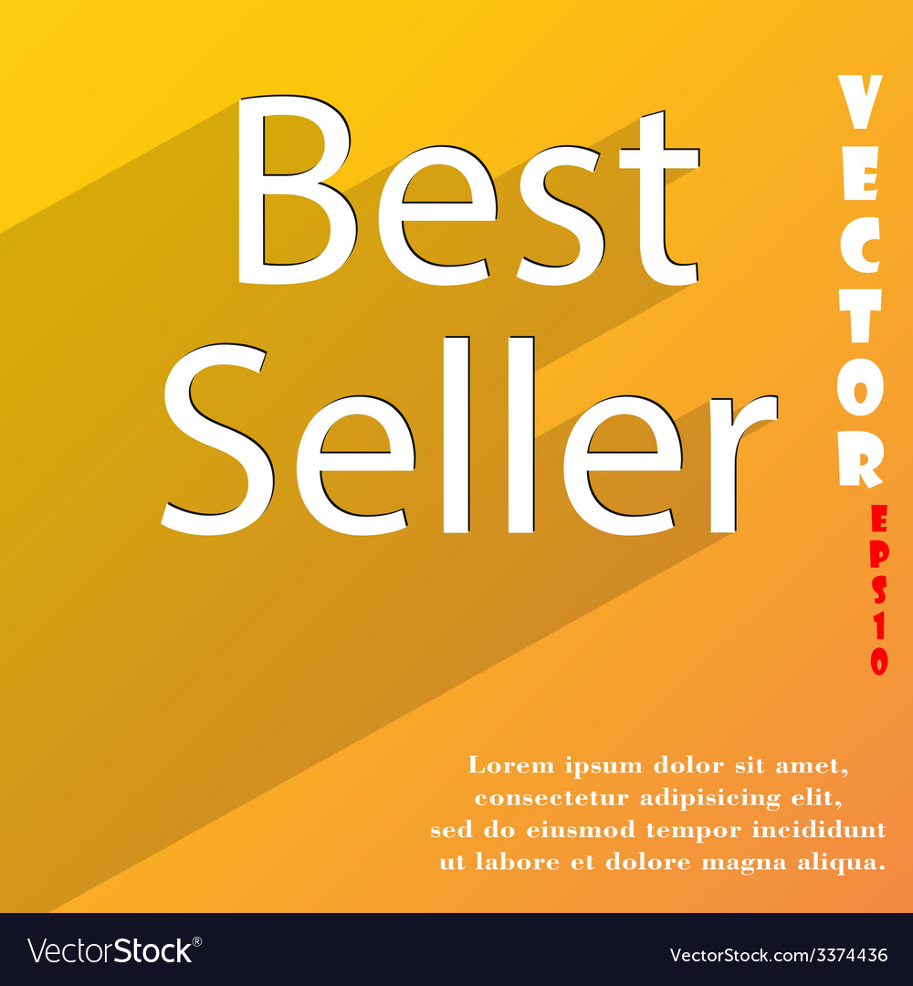 Best seller icon symbol flat modern web design vector | Price: 1 Credit (USD $1)