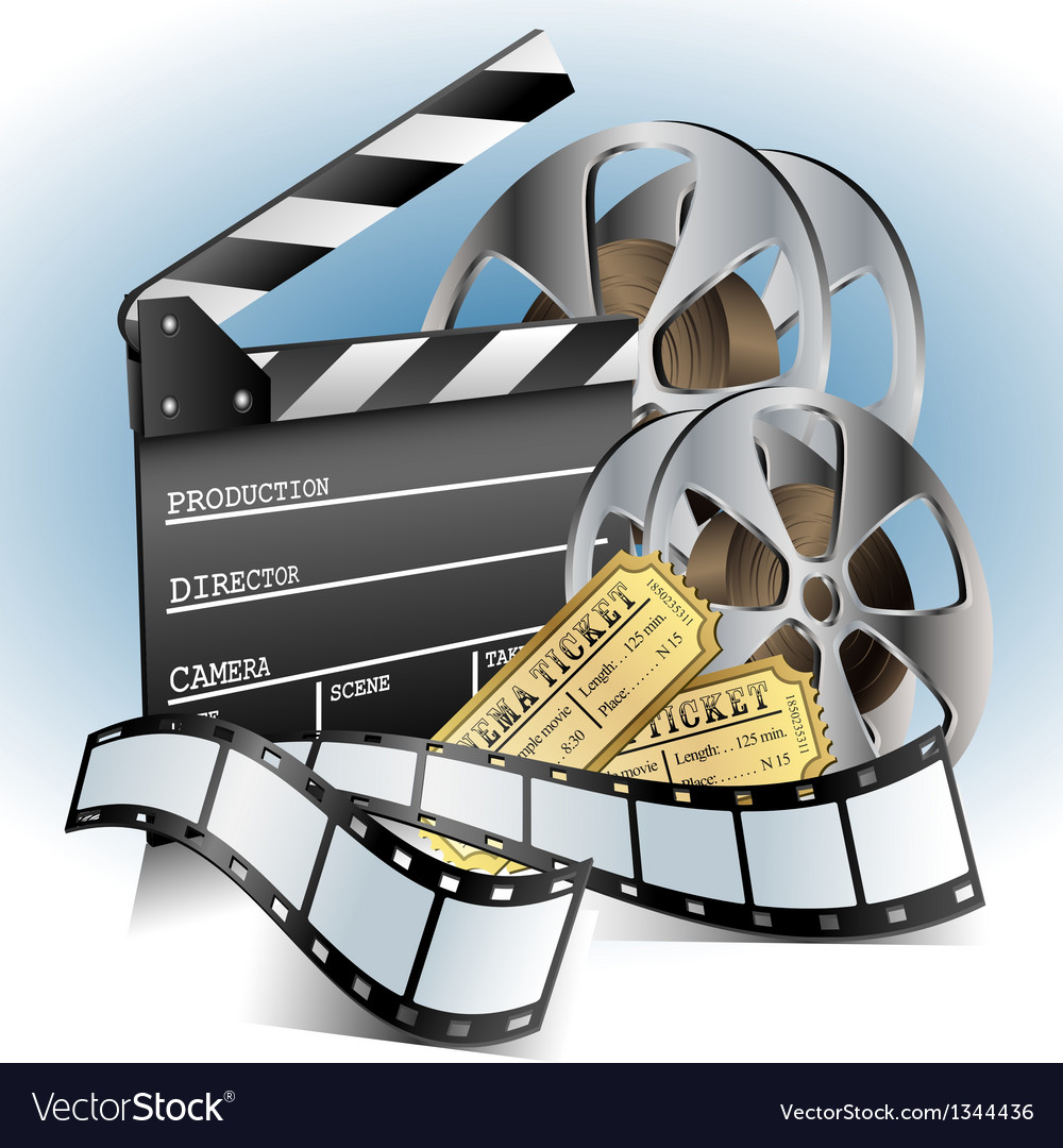 Movie related item set vector | Price: 1 Credit (USD $1)