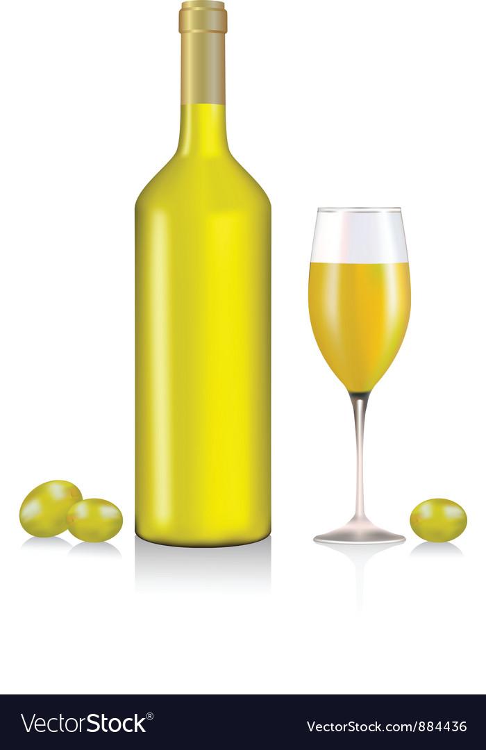 White wine vector   Price: 1 Credit (USD $1)