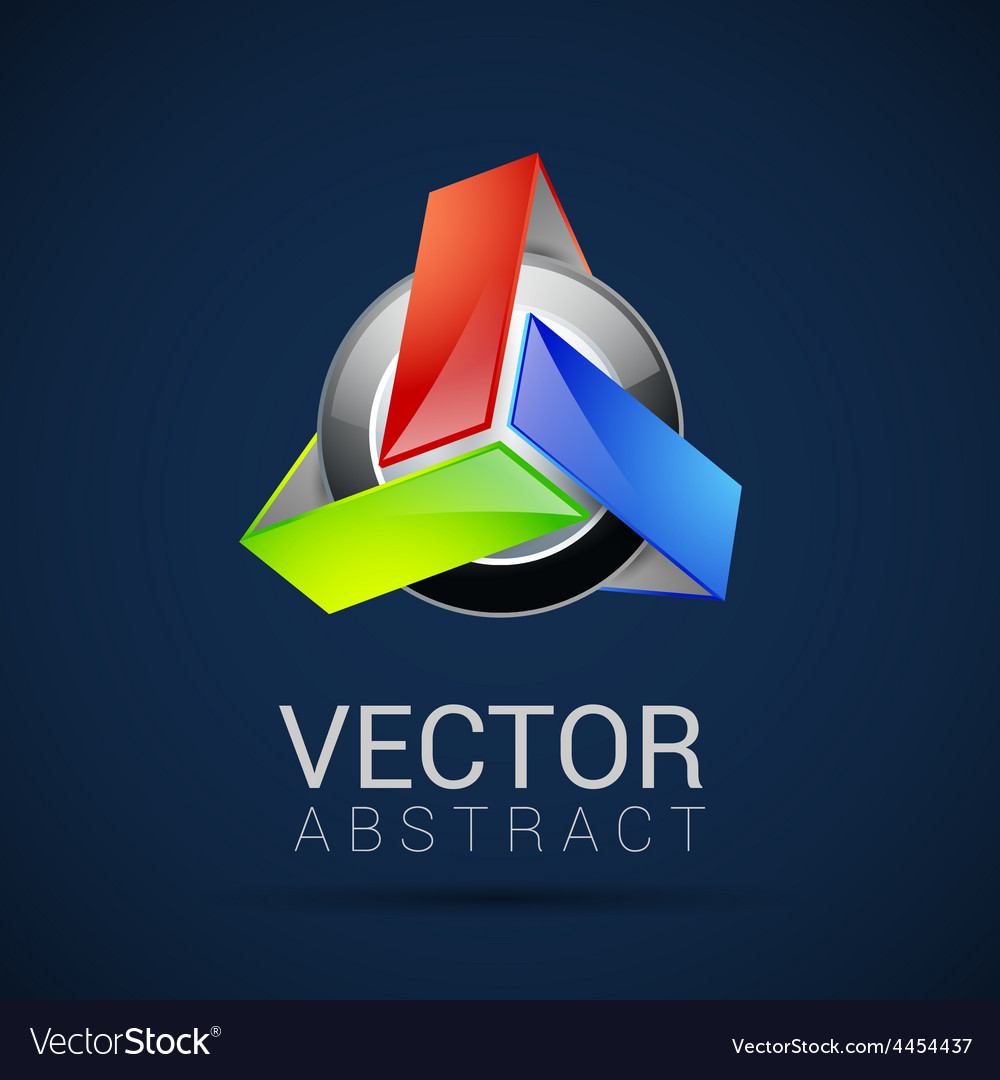 Abstract element shape design icon vector | Price: 1 Credit (USD $1)