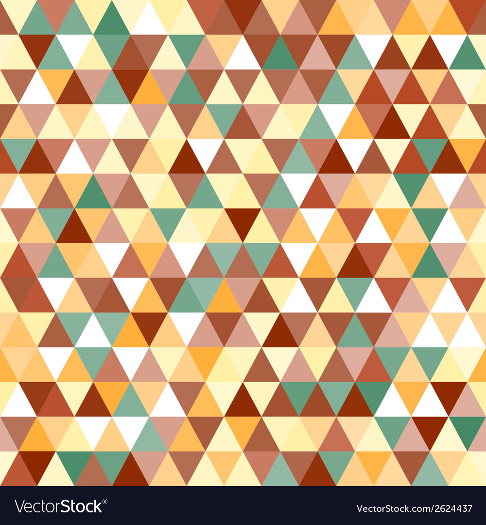 Abstract geometric triangle seamless pattern vector | Price: 1 Credit (USD $1)
