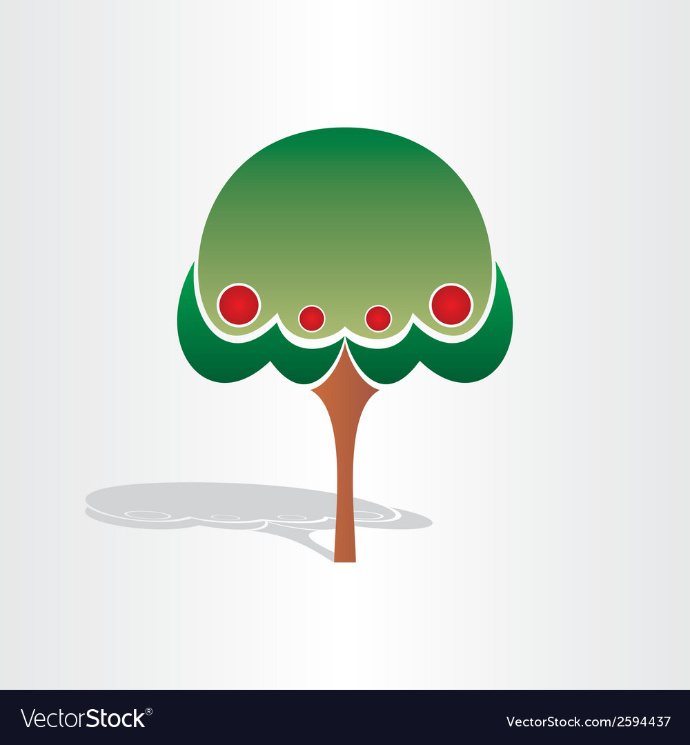 Family tree symbol design vector | Price: 1 Credit (USD $1)