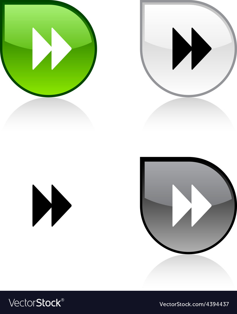 Forward button vector | Price: 1 Credit (USD $1)