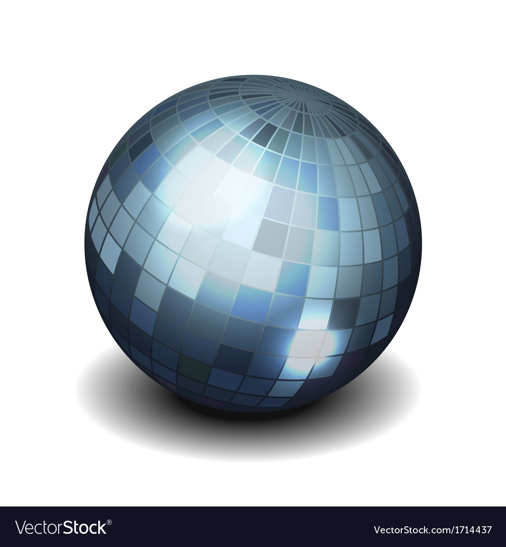 Mirror disco ball vector | Price: 1 Credit (USD $1)