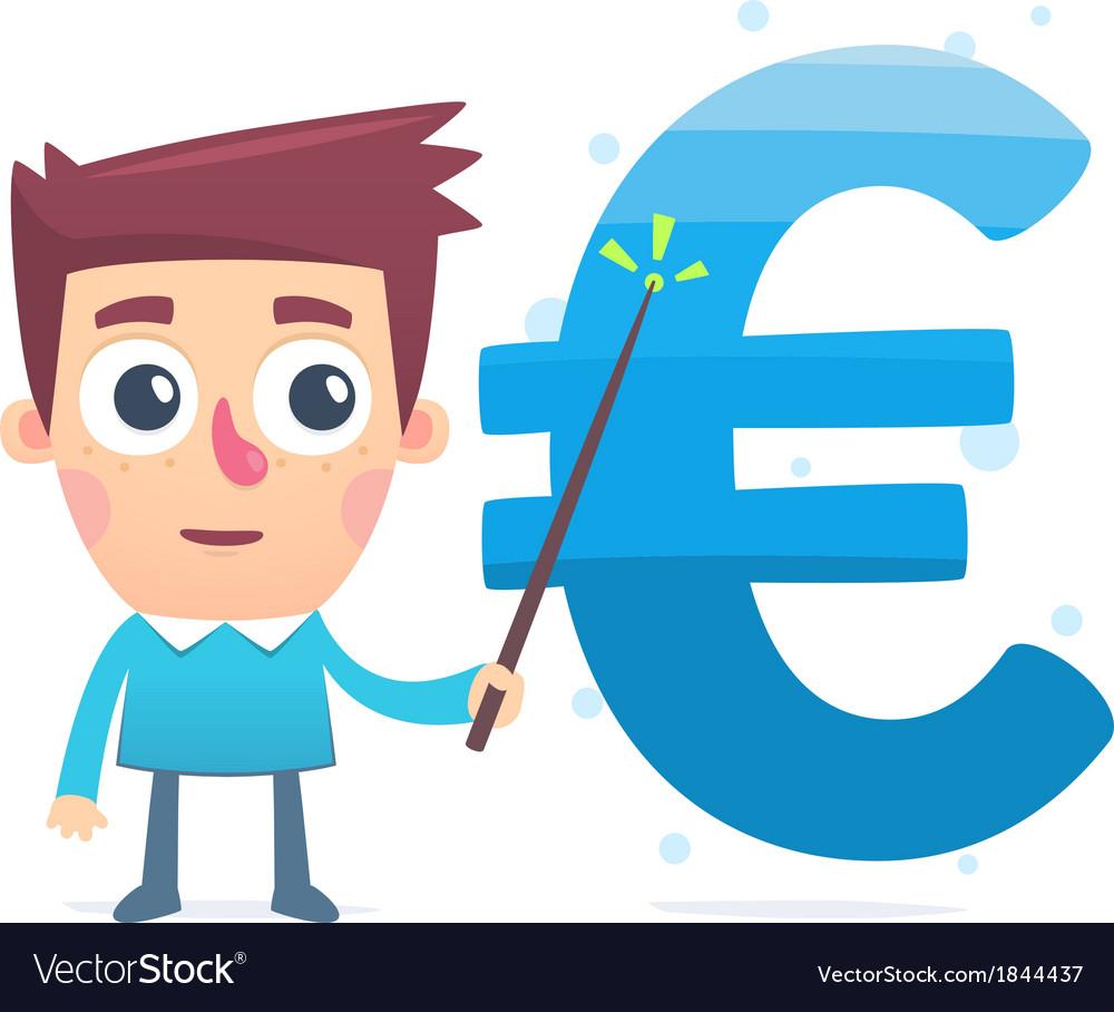 Monitoring money savings vector | Price: 1 Credit (USD $1)