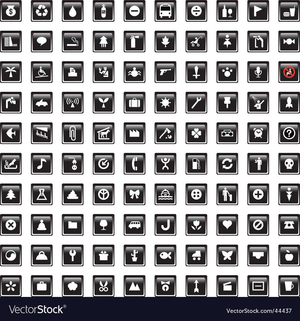 Symbol set vector | Price: 1 Credit (USD $1)