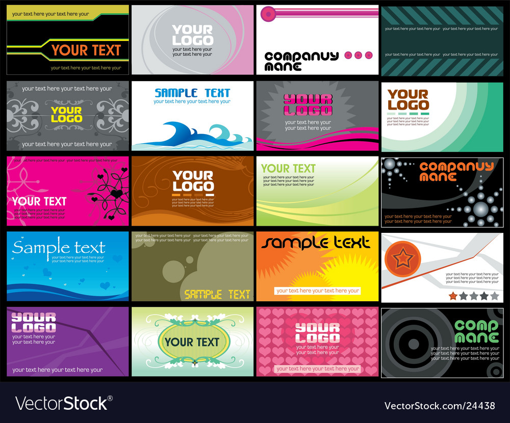 Business cards templates vector | Price: 3 Credit (USD $3)