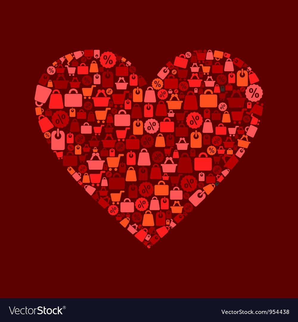 Heart sale vector   Price: 1 Credit (USD $1)