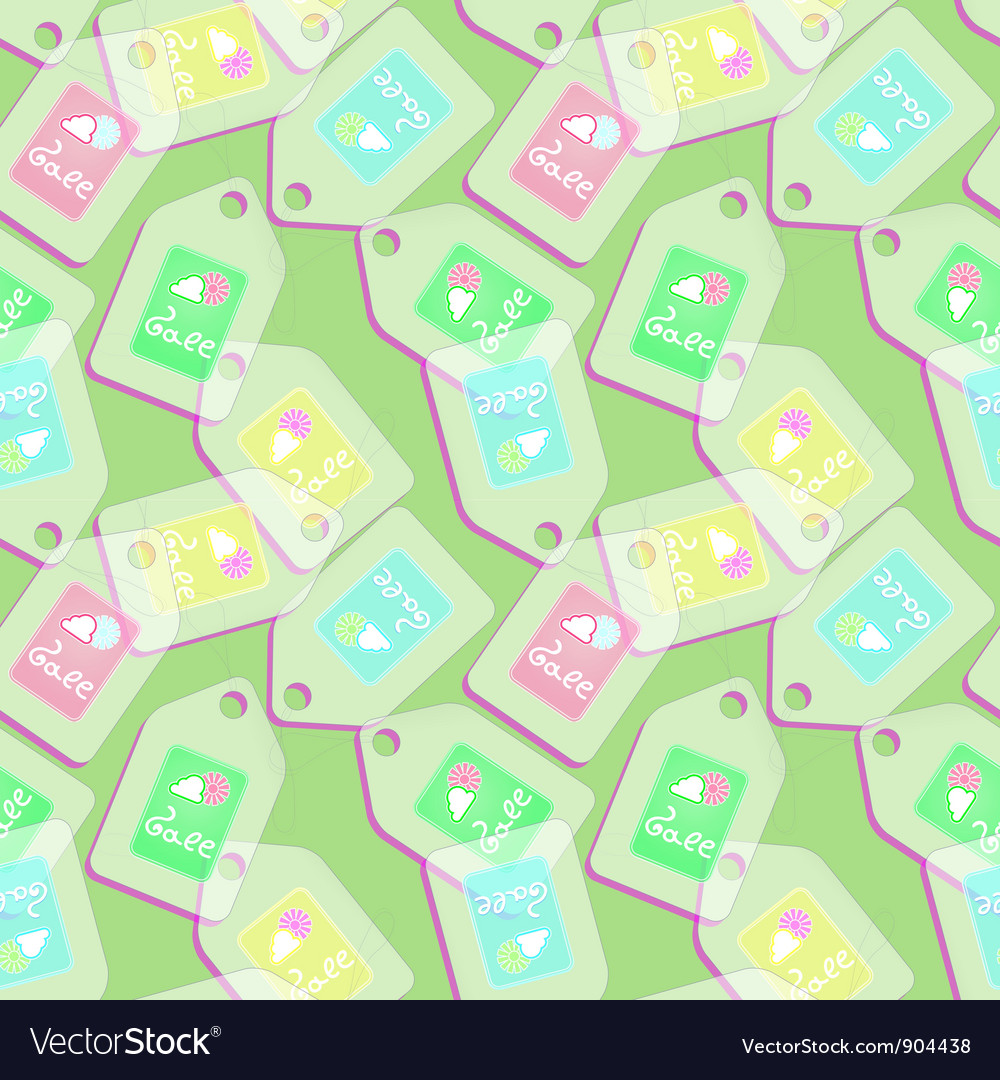 Sale seamless pattern vector | Price: 1 Credit (USD $1)
