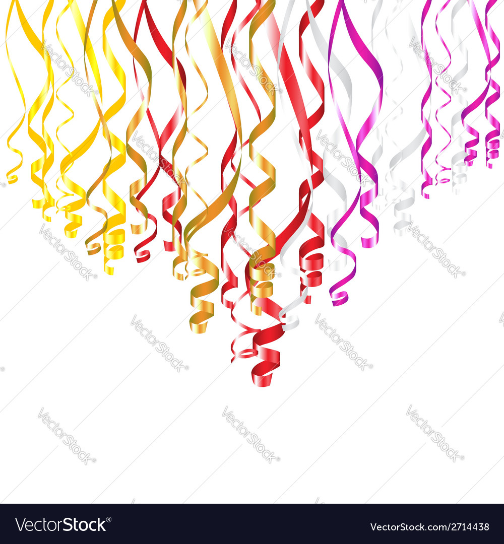 Serpentine ribbons vector | Price: 1 Credit (USD $1)