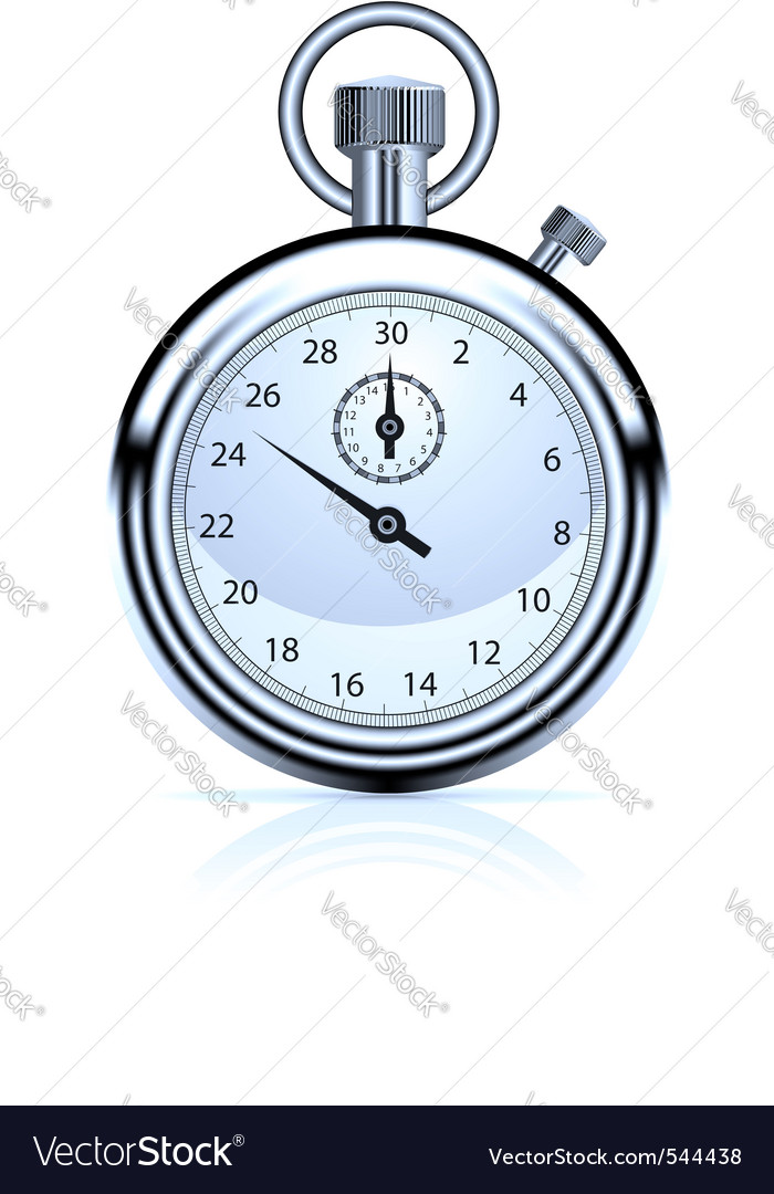 Stop watch vector | Price: 1 Credit (USD $1)