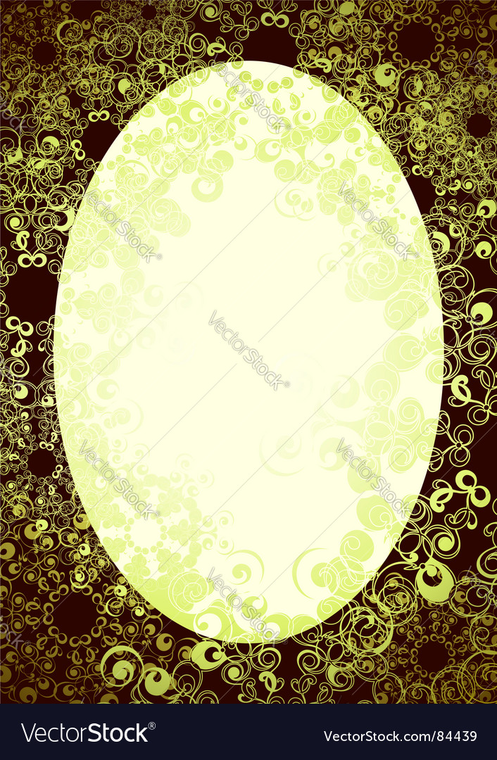 Oval background vector | Price: 1 Credit (USD $1)