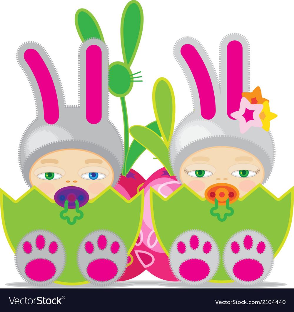 Easter baby gbbunn vector   Price: 1 Credit (USD $1)