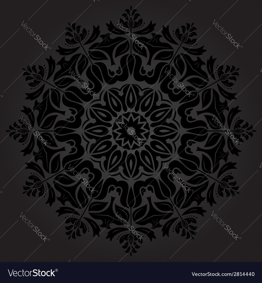 Orient pattern abstract background vector   Price: 1 Credit (USD $1)