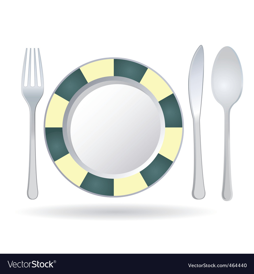 Plate vector | Price: 1 Credit (USD $1)