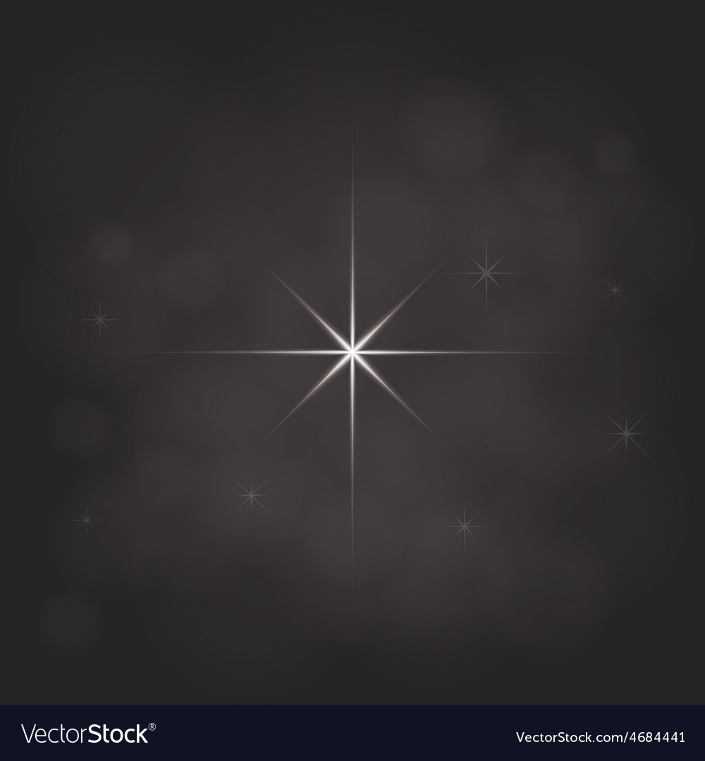 Abstract star magic light sky bubble blur dark vector | Price: 1 Credit (USD $1)
