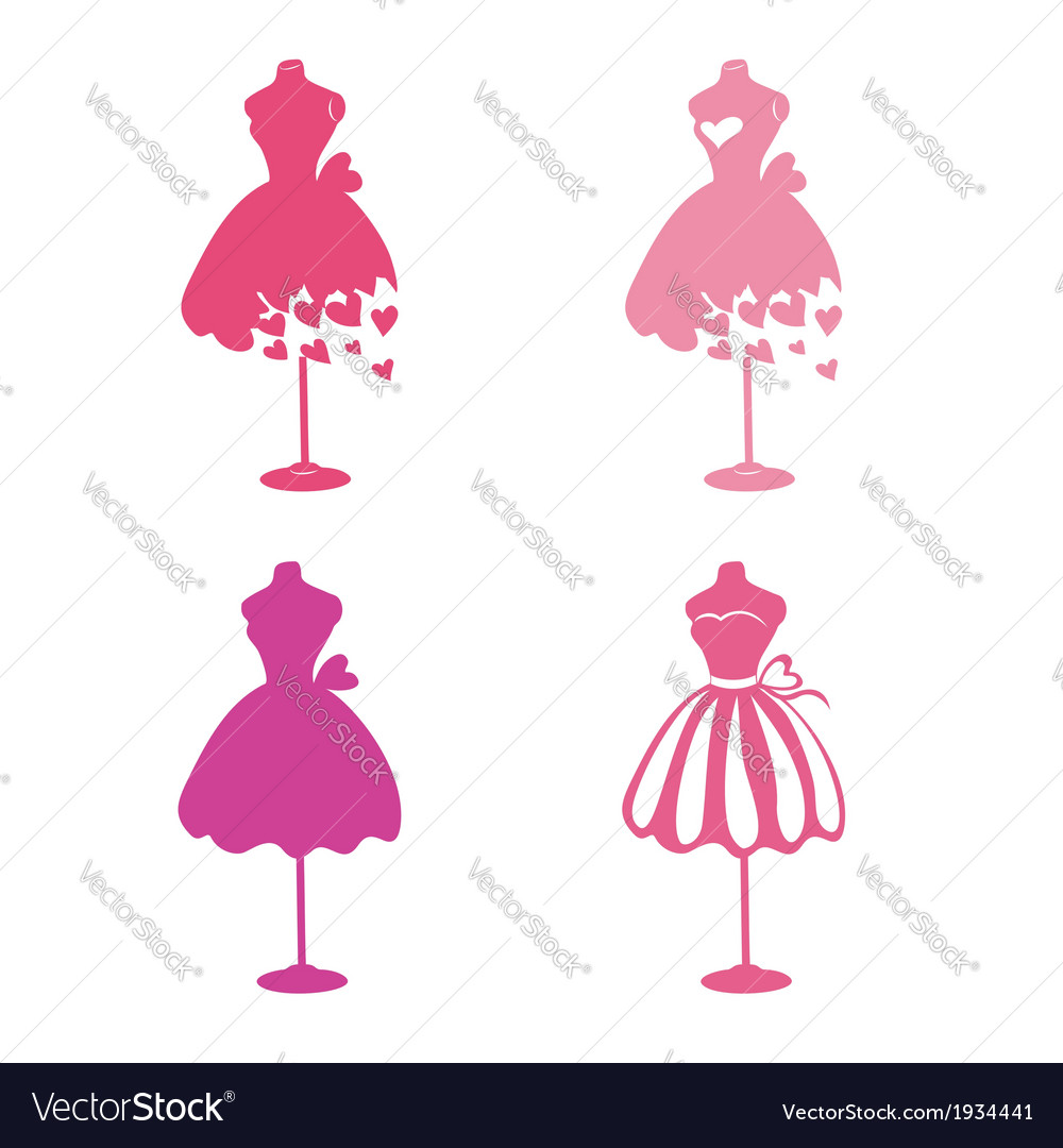 Dress mannequins vector | Price: 1 Credit (USD $1)