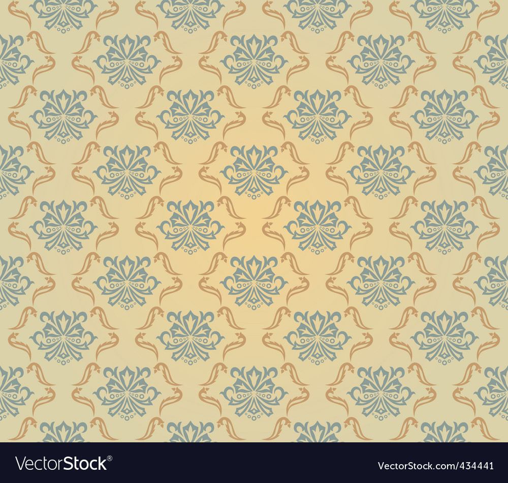 Yellow and blue pattern vector | Price: 1 Credit (USD $1)