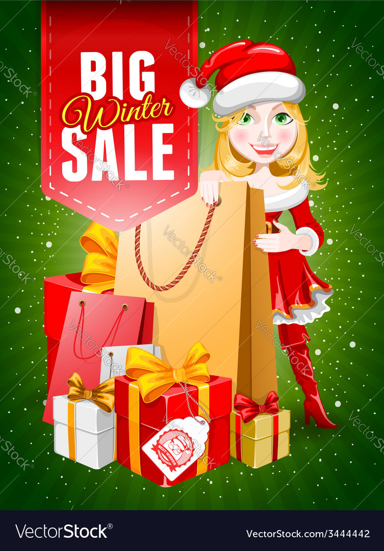 Christmas sale vector | Price: 3 Credit (USD $3)