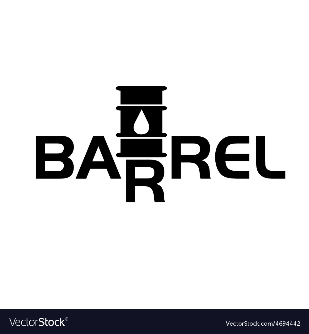 Fall and rise of oil barrel prices vector | Price: 1 Credit (USD $1)