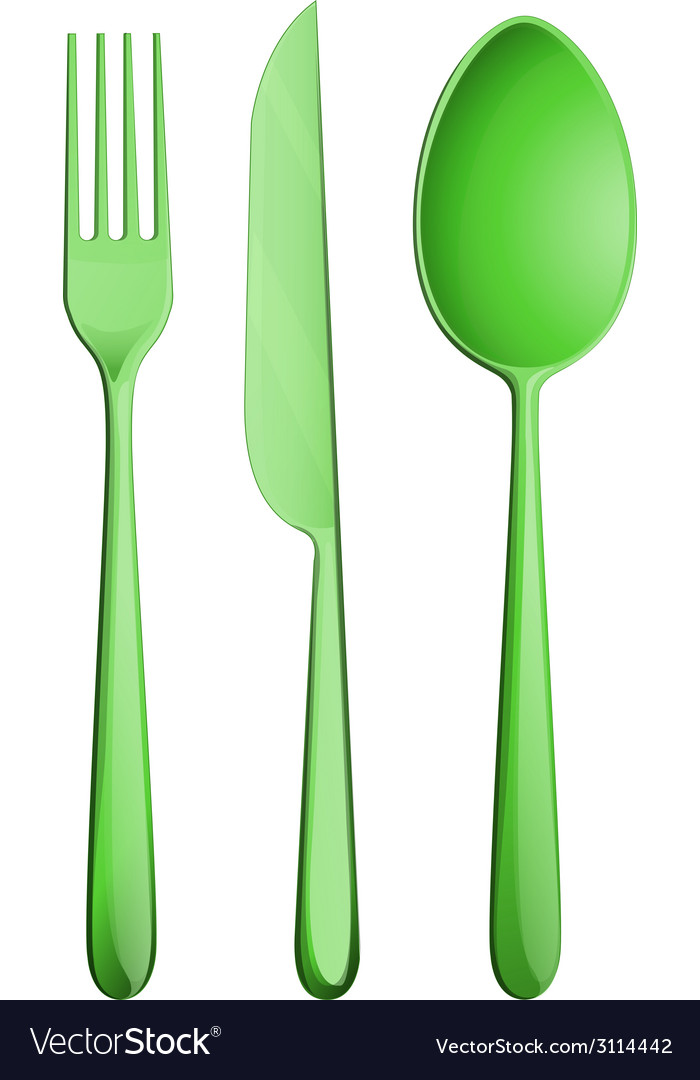 Silverware vector | Price: 1 Credit (USD $1)