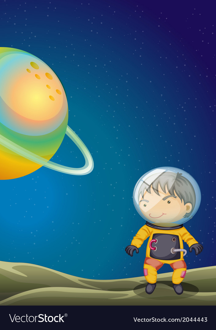 A young explorer vector | Price: 3 Credit (USD $3)