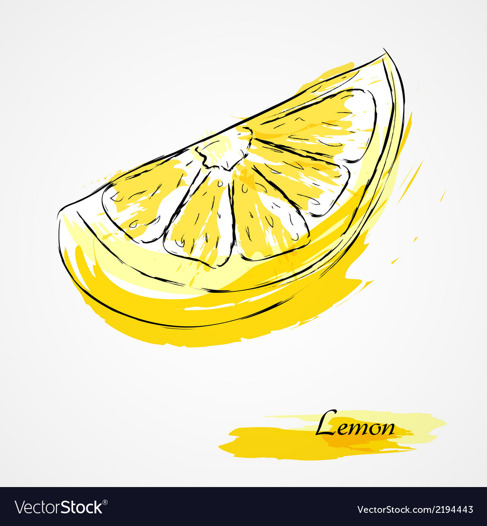 Lemon fruit vector | Price: 1 Credit (USD $1)