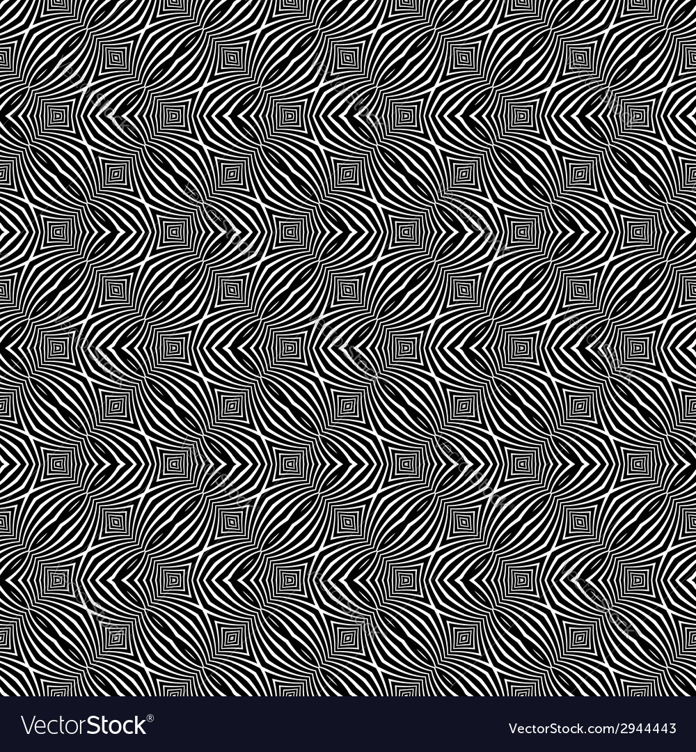 Seamless zigzag pattern vector | Price: 1 Credit (USD $1)