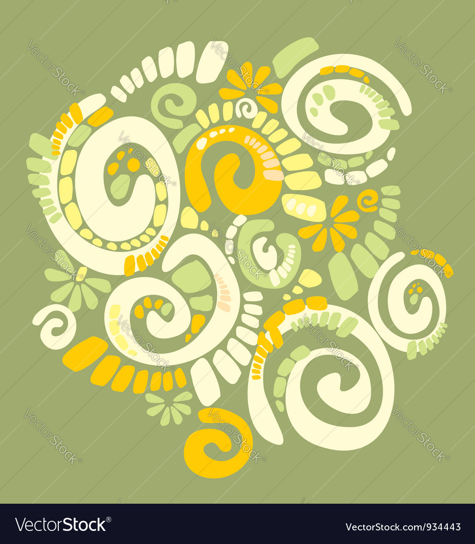 Spiral structure vector | Price: 1 Credit (USD $1)