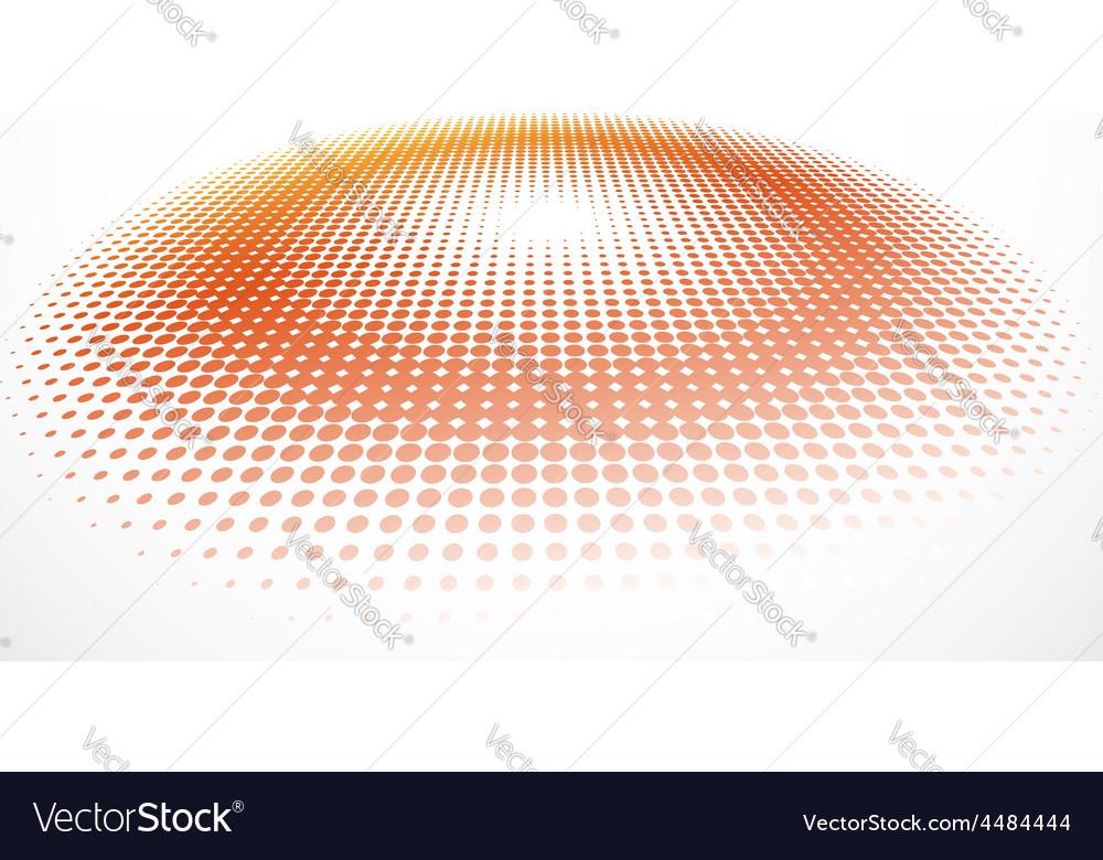 3d halftone background vector | Price: 1 Credit (USD $1)