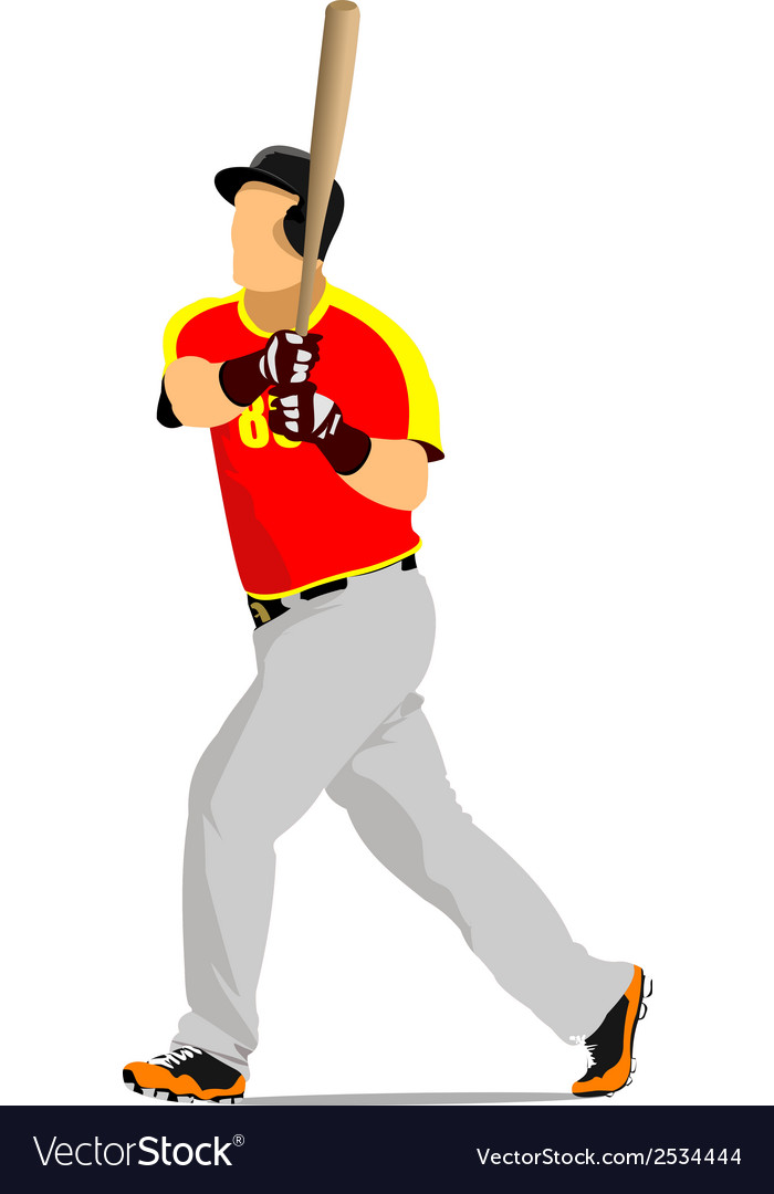 Al 0947 baseball 01 vector | Price: 1 Credit (USD $1)