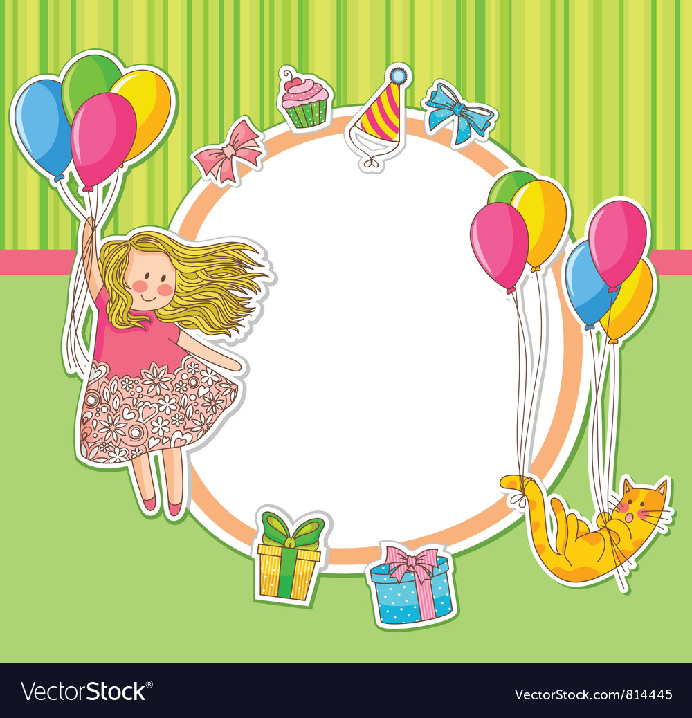 Birthday doodles vector | Price: 3 Credit (USD $3)